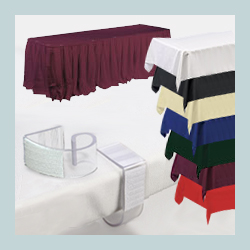 tablecloth and skirting sets