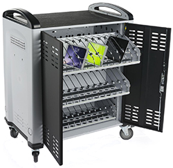 tablet charger carts