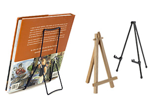 Tabletop Display Easels