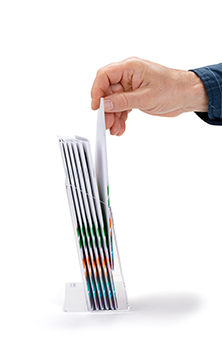 Display your brochures effectively