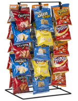 Clipper Rack for Snack Items