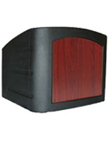 Tabletop Pulpit in Black
