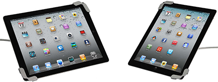 Protective bumper case for iPads
