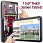 Commercial Touchscreen Tablet