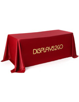Fire-Retardant Modern Branded Table Cover