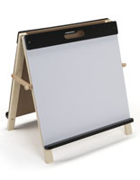 Children's Tabletop Easel with Dry Erase Board
