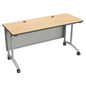 Stand Up Work Desk with Modesty Panel