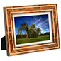 Wooden Picture Frames with Inlaid, Italian Design