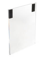 Frameless Acrylic Sign Frame