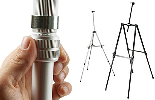Telescoping Easels