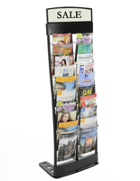 20 Pocket Magazine Rack