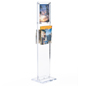 Clear Acrylic Floor Stand