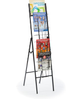 8 Tier Fold Up Magazine Stand
