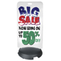 24 x 47 Whiteboard Sidewalk Sign with Wet Erase Markers