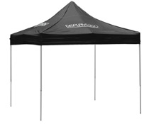 10 x 10 Black Pop-Up Canopy