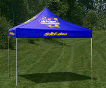 Pop Up Tent in Royal Blue  sc 1 st  Displays2go & Custom Canopy w / Graphics | Square u0026 Rectangular Tents