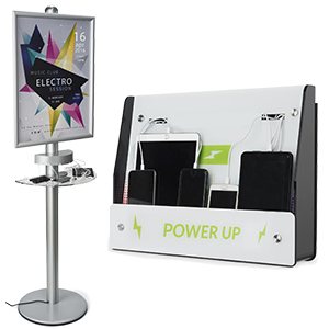phone and tablet chargers for trade shows