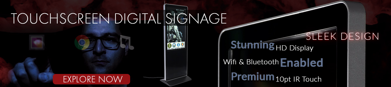 new touchscreen digital signage