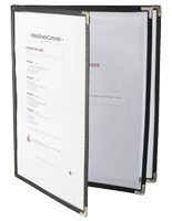 Restaurant Menu Covers