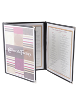 Clear Menu Covers