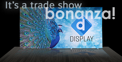 Booth backdrops and graphics for trade show exhibitors