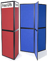 There are hundreds of trade show display booth options to choose from here.
