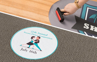 Repositionable Floor Decals