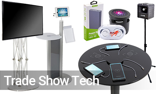 Digital Furnishings and Supplies for Trade Shows