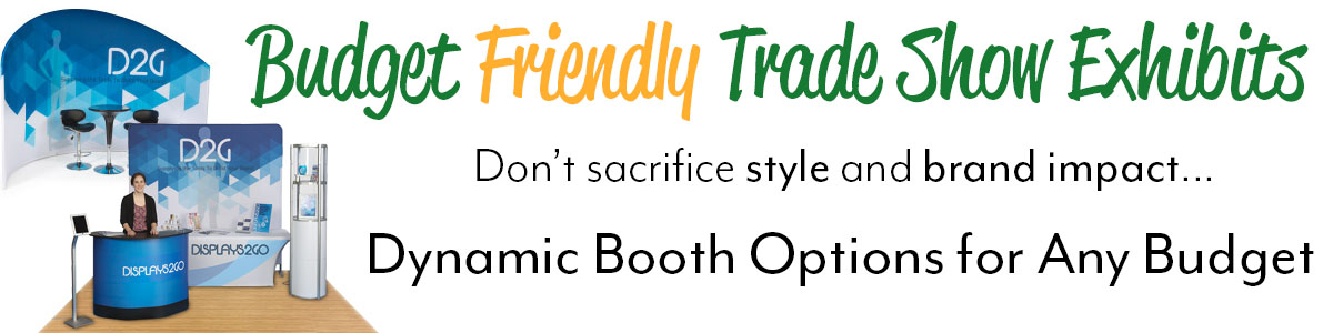 Budget friendly trade show booths
