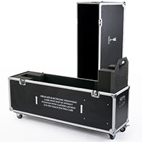 Trade Show Equipment and Supplies Including Shipping Case