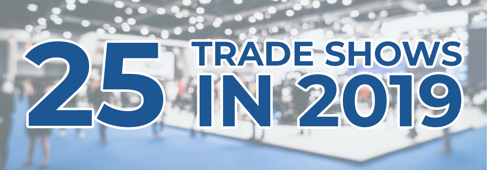 25 of the Most Popular Trade Shows in 2019