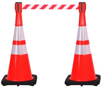 Outdoor Traffic Cones & Signs