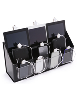 "Multi Device Charging Station Organizer, 6.625"" Overall Depth"