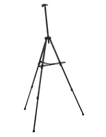 Lightweight Black Telescoping Easel