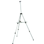 Lightweight Silver Telescoping Easel
