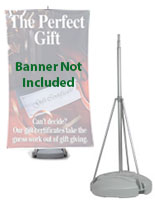Adjustable Height Trade Show Banner