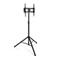 VESA compatible portable TV stand with tripod legs