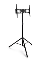Flat screen TV tripod stand for LCD & LED monitors