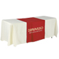 "Metallic Lettering 30"" Red Table Runner - Lightweight"