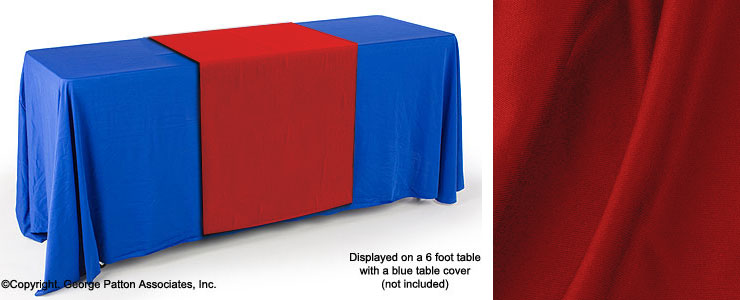 This Cheap Table Runner Adds Color to Any Presentation! Table