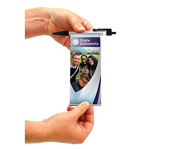 Retractable banner pens are one of many promo products.