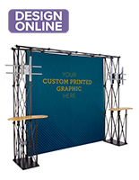Truss Trade Show Booth Backdrop