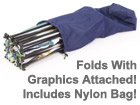 nylon carry bag included