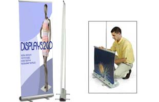 Roll Up Display System
