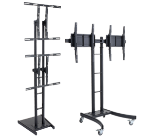 dual and multi-monitor stands