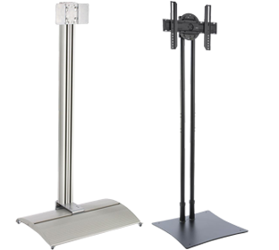 Tvstandsonly Commercial Trade Show Portable Television Stands