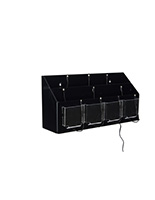 Multi Device Charging Station Organizer for Trade Shows