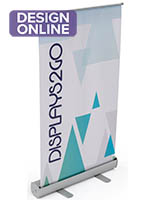 Silver Tabletop Retractable Banner