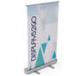 "Tabletop Retractable Banner with 24"" x 40"" Custom Graphic"