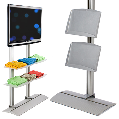commercial TV stands for retailers
